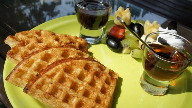 One of the best Waffles
