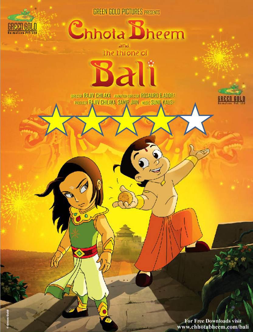 Chota Bheem and the thron of Bali - Movie Review