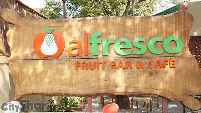 Alfresco Fruit Bar and Cafe Ahmedabad