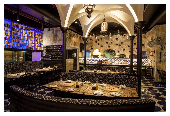 A newly opened restaurant - Mediterranean feel 2