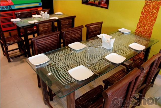 Horn ok pleaj restaurant ahmedabad Home decor ahmedabad