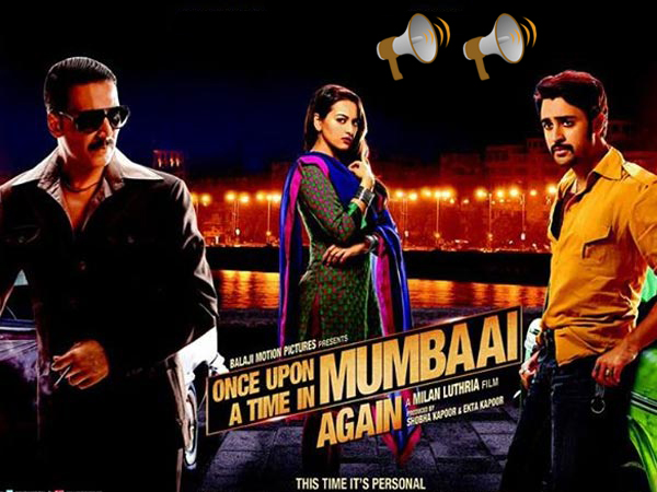 Once upon a time in Mumbai Dobara Movie Review