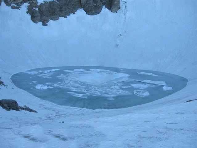 The skeletons still swim here - Roopkund Lake