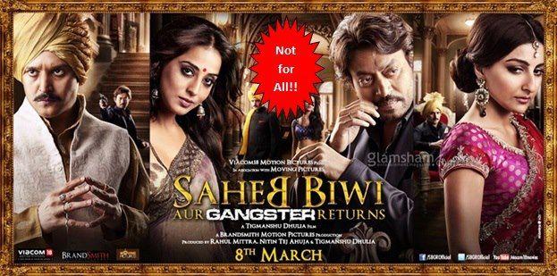 Saheb Biwi aur Gangster Returns movie review