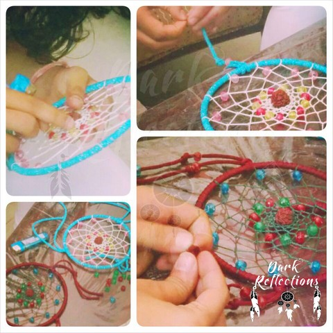 Learn to Weave a Dreamcatcher with Dark Reflections