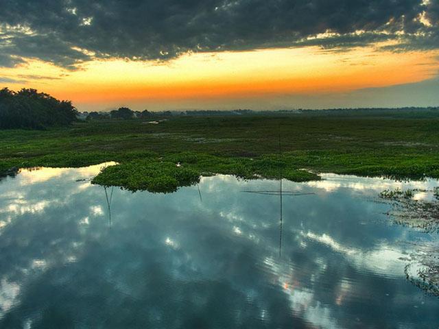 Majuli - The largest river Island of India